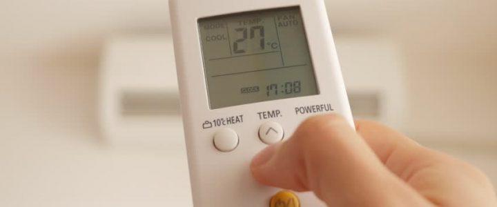 Σωστή ρύθμιση θερμοκρασίας κλιματιστικού
